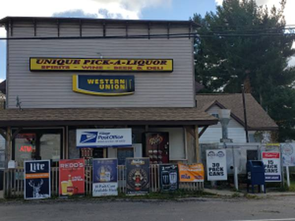 Photo Unique Pick a Liquor Convenience Store (54099 CR 388 Grand Junction MI)