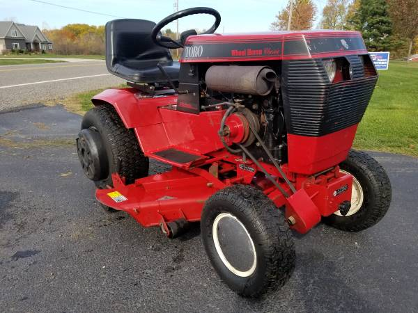 Photo Wheel Horse 312Hydro 42quot Cut Mower  36quot Snow Blower (Runs Perfect) - $995 (Saint Joseph)