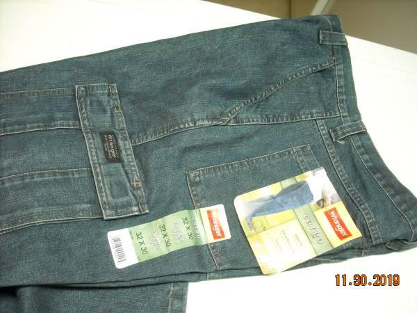 Photo Wrangler Cargo jeans - $30 (SWM)