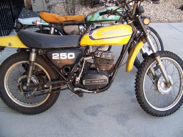 Photo 1973 Kawasaki 250 F11M  1974 Kawasaki 250 F11M - $950 (Smith Mountain Lake)