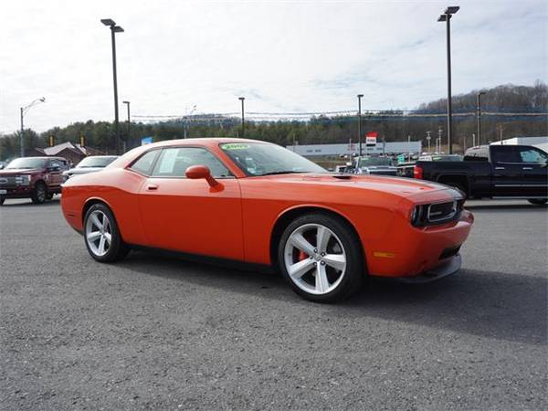 Photo 2009 Dodge Challenger coupe SRT8 - Orange (Dodge_ Challenger_ coupe_)