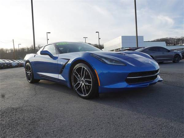 Photo 2015 Chevrolet Corvette coupe STINGRAY - Blue (Chevrolet_ Corvette_ coupe_)