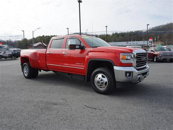 Photo 2016 GMC SIERRA 3500HD truck SLT - Red (GMC_ SIERRA_ 3500HD_ truck_)