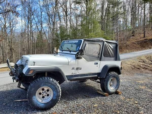 Photo 95 jeep wrangler yj - $5000 (Nimitz wv)