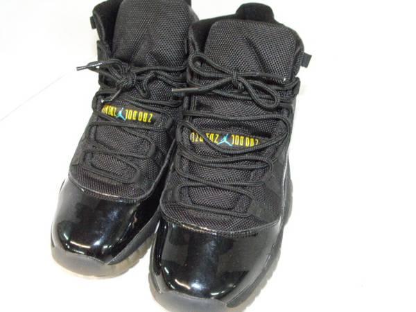 Photo Air Jordan 11 Retro Shoes( 6.5 Y) (Green Sulphur Springs)