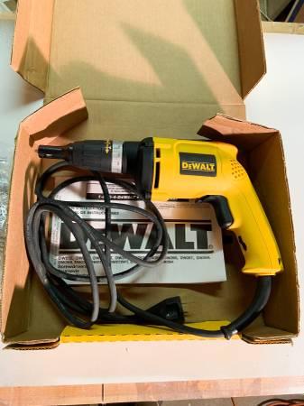Photo Dewalt Drywall Screwgun - New In Box - $50 (Rocky Mount)