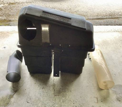 Photo Double Bagging System For Murray Riding Mower - $125 (Bluefield Va)