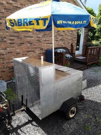 Photo Hot Dog Cart - $1000