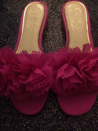 Photo Jessica Simpson pink sandals sz8.5 - $10 (Roanoke)