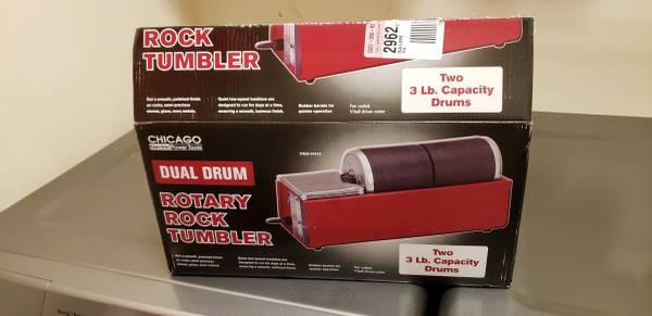 Photo Rock tumbler - $30 (Salem)