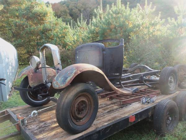 Photo 1930 MODEL A FORD FRAME - $1,200 (Ivanhoe)