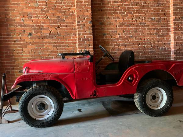 Photo 1959 Willys Jeep CJ5 - $2,900 (Old Fort)