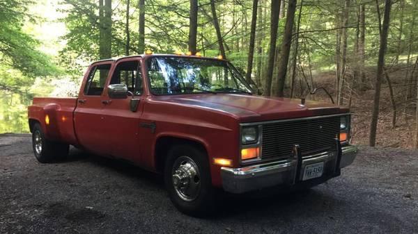 Photo 1986 Chevy Crew Cab Dually - $7,500 (Grundy)