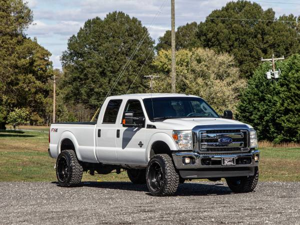 Photo 1 OWNER4 INCH LIFTED RCX 2015 FORD F350 4X4 FX4 POWERSTROKE - $28,995 (FORD GMC CHEVROLET TOYOTA DODGE RAM)
