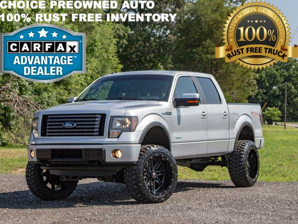Photo 1 OWNER6 INCH LIFTED RCX 2011 FORD F150 4X4 FX4 ECOBOOST CREW CAB - $19995 (FORD CHEVY DODGE RAM GMC TOYOTA)