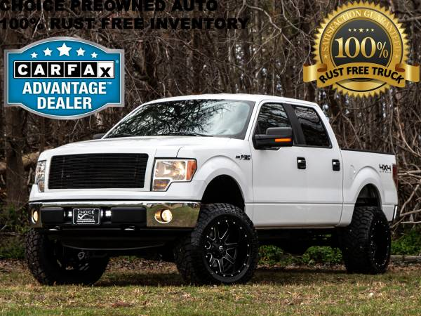 Photo 1 OWNERRCX LIFTED 2013 FORD F150 4X4 CREW CAB TEXAS EDITION - $18993 (Ford GMC Dodge Toyota Chevrolet)