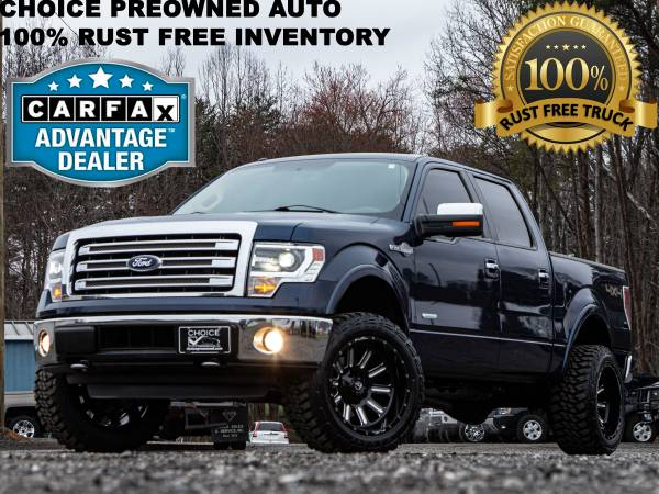 Photo 1 OWNERRCX LIFTED 2014 FORD F150 KING RANCH CREW CAB 4X4 ECOBOOST - $27995 (Ford GMC Dodge Toyota Chevrolet)