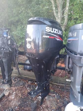 Photo 2015 Suzuki 70 hp 4 stroke outboard (Pendleton)