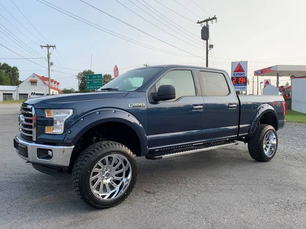 Photo 2017 Ford F-150 XLT FX4 4x4 -23K Miles -Lifted -New Wheels  Tires - $39,875 (Chevy Ford Toyota Dodge Ram Nissan Jeep GMC Honda)