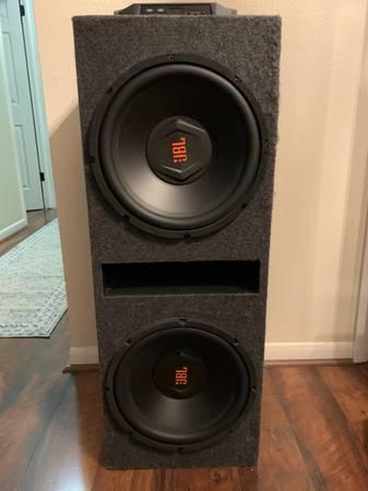 Photo 2 12 JBL Subs, Box, and 1300 Watt Amp - $400 (Asheville)