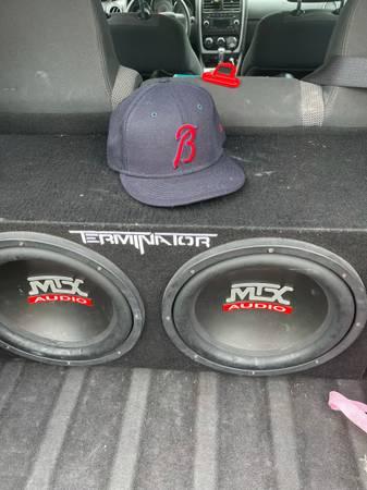 Photo 2 12 inch MTX Terminators in Box w Amp - $250 (Whittier)