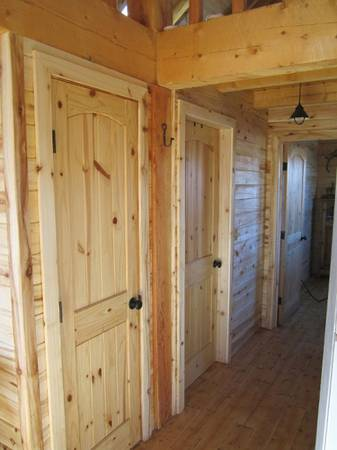 Photo 2 PANEL KNOTTY PINE INT DOORS AND MORE - $130 (Mountain City)