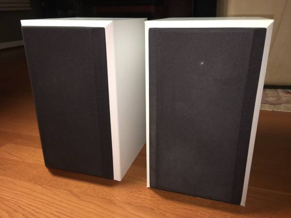 Photo BW Bowers and Wilkins DM600i Audiophile Speakers - $200 (South Asheville)