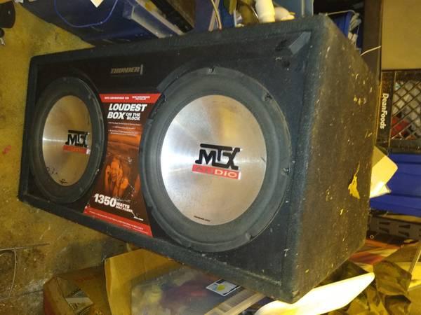 Photo Boom Box - MTX Audio - $199 (Canton)