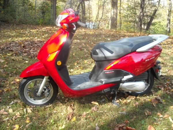Photo Honda Elite 110--Immaculate - $1,350 (Sylva)