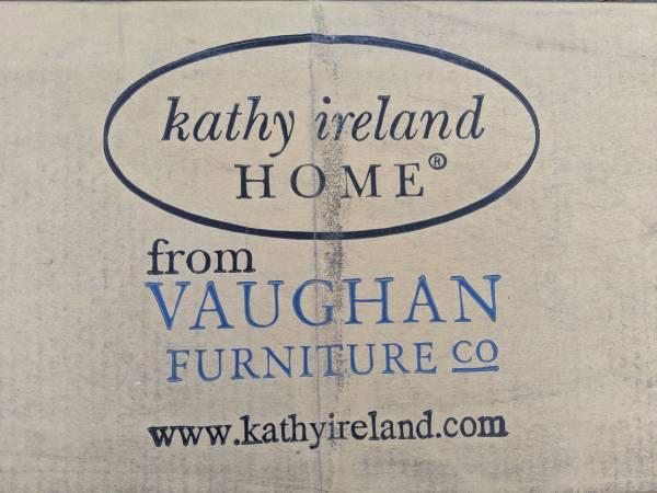 Photo Kathy Ireland by Vaughan (Bassett) Red Oak Bed Rails - $50 (Sylva)
