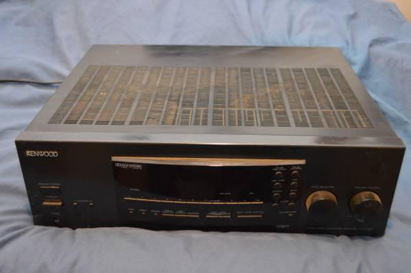 Photo Kenwood surround sound receiver - $60 (Candler)