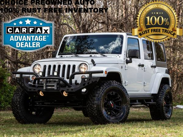Photo LK 2015 JEEP WRANGLER UNLIMITED SAHARA LIFTED 4 DOOR HARD TOP - $26991 (Ford GMC Dodge Toyota Chevrolet)