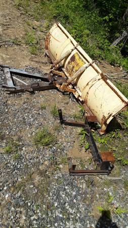 Photo Meyers snow plow and western pump - $200 (Mars Hill, NC)