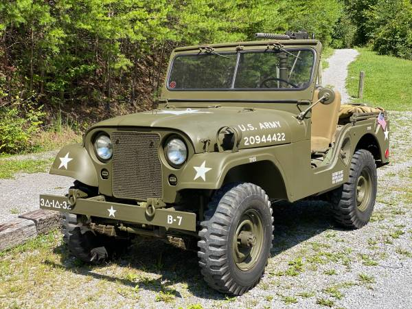 Photo Military Willys Jeep 1953 - $16,500 (Bluefield)