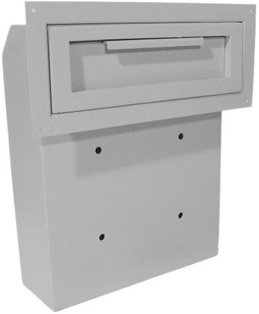 Photo NEW DuraBox Through-The-Door Locking Drop Box (D500) (Grey) - $110 (MARION)
