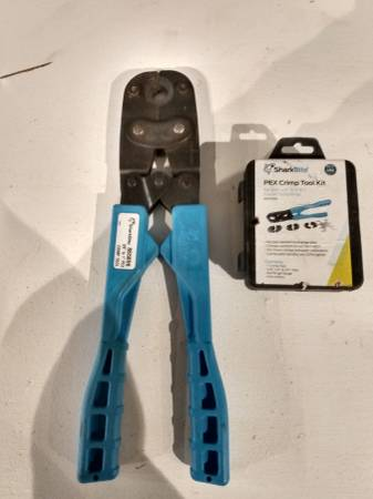 Photo Pex Crimper. Used 1 time - $60 (Downtown Statesville.)