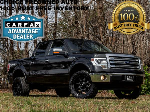 Photo RCX LEVELED2014 FORD F150 LARIAT 4X4 SUPER CREW CAB FUELS  NITTO - $21989 (Ford GMC Dodge Toyota Chevrolet)