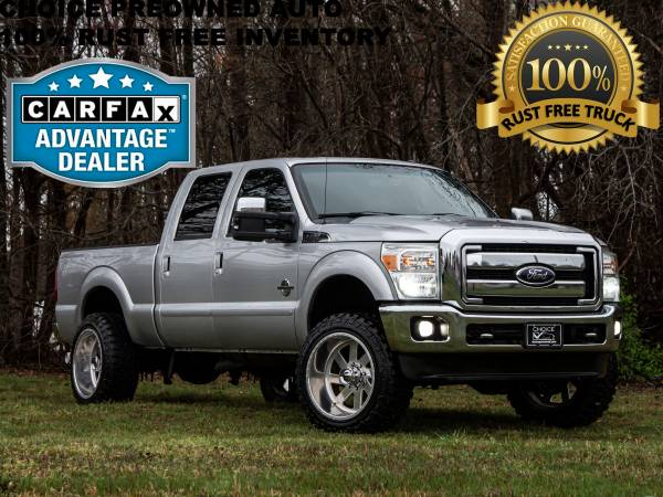 Photo RCX LIFTED2012 FORD F250 SUPER DUTY LARIAT 4X4 - 22quot FUEL FORGED - $28986 (Ford GMC Dodge Toyota Chevrolet)