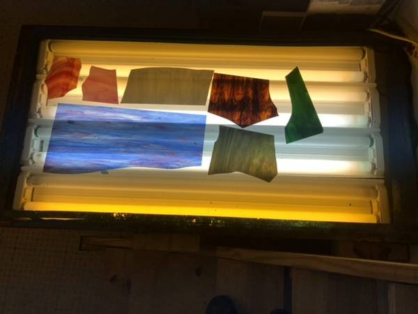 Photo Stained Glass Supplies - $2,200 (Waynesville)