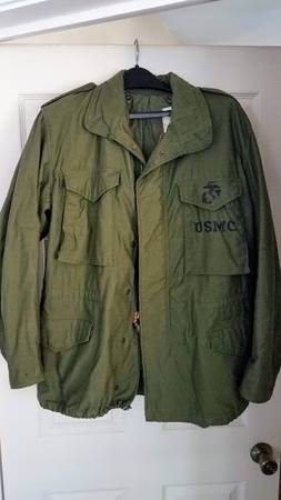 Photo Vintage US Marine Corps Field Jacket - $65 (Flat Rock)