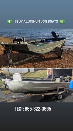 Photo iiiiBuy Aluminum Jon Boats  Outboard Motors - $220 (Bean Station)