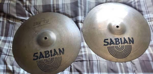 Photo 14quot Sabian B8 Pro Hi Hats - $35 (Cortland)