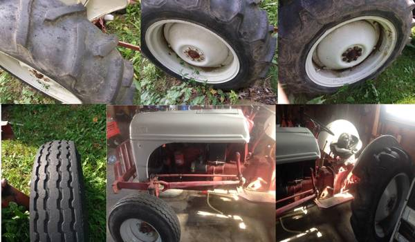Photo 1947 Ford 8n with implement - $3,000 (Fulton)