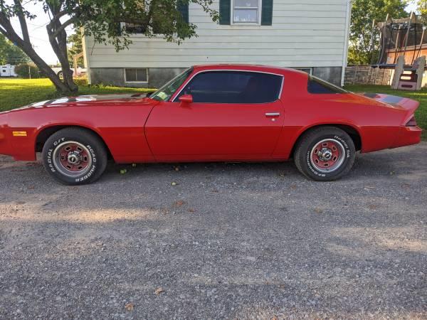 Photo 1979 Chevy Camaro - $9,000 (Central square)