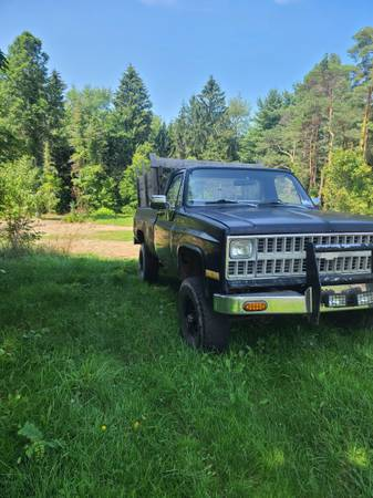 Photo 1981 Chevy K20 - $3,200 (Oswego)