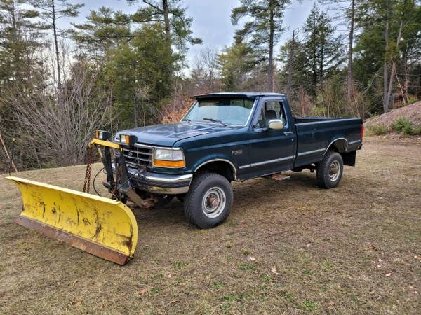 Photo 1993 Ford F-350 4X4 83K Orig. with Plow - $6,900 (Constantia, NY)