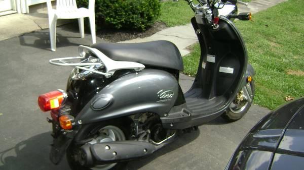 Photo 2006 Yamaha Vino 125 Scooter - $2,600 (Manchester, New York)