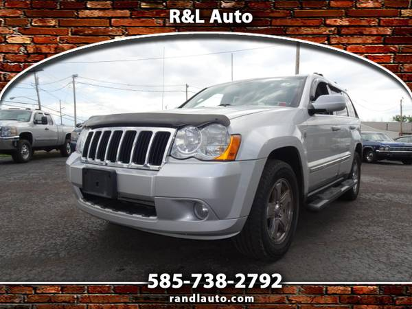 Photo 2008 Jeep Grand Cherokee Limited 4WD - $7,495 (Spencerport, NY 14559)