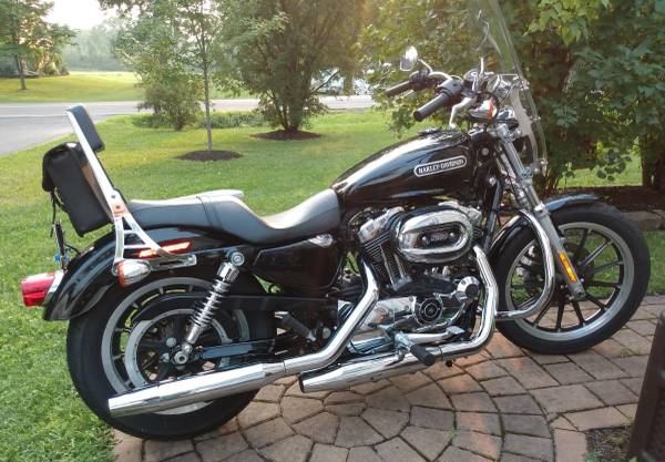 Photo 2009 Harley Davidson Sportster XL 1200 Low - $5,500 (East Syracuse)