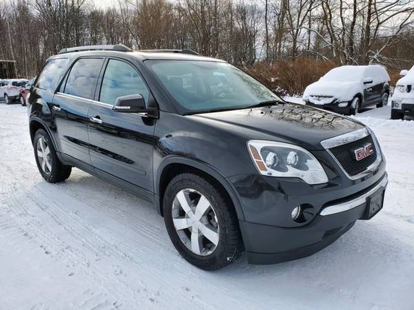 Photo 2011 GMC Acadia - Good and Bad credit, reputable dealer 3 locations - $9295.00 (Jordan, ny)